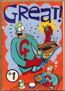 Great #1-1999 fn+ 6.5 Underground Small Press UK Gary Northfield Derek The Sheep