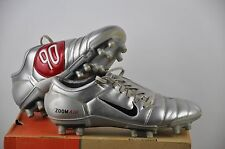 Nike Air zoom total 90 III FG Talla 44 1/2 UK 9,5 Classic Boots Chrome Soccer