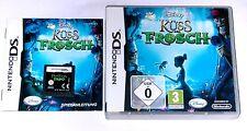 Spiel: DISNEY´S KÜSS DEN FROSCH für Nintendo DS + Lite + Dsi + XL + 2DS + 3DS