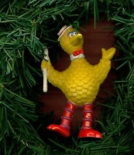 Muppets Big Bird performer custom themed Christmas ornament hanging toy LOOK