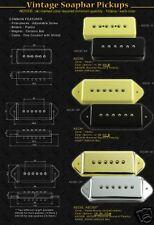 Artec asc93-gd Clásico Soapbar Humbucker Tipo Pastilla
