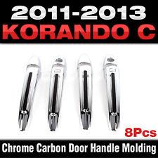 Chrome Door Handle Cover Molding for SSANGYONG 2011 2012 2013 Actyon Korando C