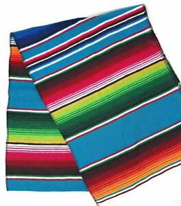 14 x 84 inch Mexican Serape Table Runner for Mexican Party Wedding Decorations