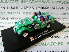 2CVAP3 voiture 1/43 ELIGOR Autoplus CITROËN 2CV n°13 mehari désert club Cassis