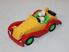 VINTAGE SNOOPY AND WOODSTOCK CAR DIECAST 1958-65 AVIVA TOY