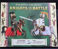 STERLING INNOVATION KNIGHTS IN BATTLE BUILD 10 PAPER--CRAFT WARRIORS