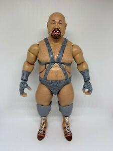 WWE Elite Bastion Booger CUSTOM Wrestling Figure MATTEL Flashback legend