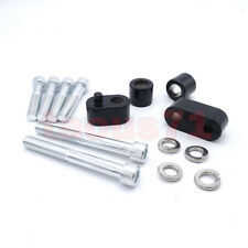 Driver FloorBoard Footrest Spacer Extension Kit For 2009-UP Harley Touring FLH