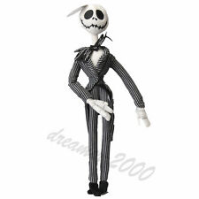 The Nightmare Before Christmas Jack Skellington Plush Doll Figure Toy Xmas Gift
