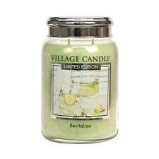Village Candle Revitalize 26oz Jar Candle FREE P&P