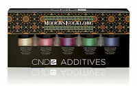 CND Creative Nail MODERN FOLKLORE Additives Nail art Kit Pigments Effects NO BOX