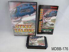 Complete Steel Talons Mega Drive Japanese Import Sega MD Boxed Japan Genesis B