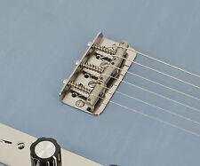 Titanium Telecaster Half Bridge Plate, Vintage 4-hole, by RockRabbit Guitars