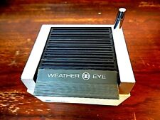 Vintage MacDonald Weather Eye Portable Battery Operated Radio Station Instrument