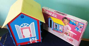 Barbie Ferienhaus,Babaház,Ferien-Haus+ OVP, Barbiehaus,80er Jahre,selten,vintage