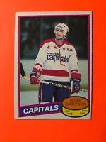 Mike Gartner NICE ROOKIE O-Pee-Chee NHL Hockey Card 1980-81 #195  SEE PHOTOS