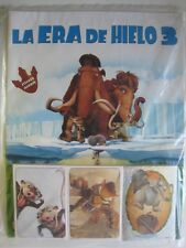 ICE Age 3 ( la era del hielo )  Panini Complete 144 Stickers Collection + Album