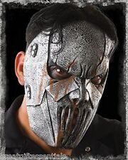 SLIPKNOT MICK THOMSON MASK Costume Gray Silver Latex Hope Heavy Metal LICENSED 7