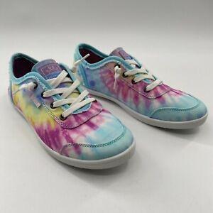 Skechers Bobs Women's B Cute Pastel Tie Dye Slip-On Sneakers Shoe 113146 Size 11
