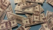 1/6 scale loose money. Lot of 90 $100 bills! GI Joe 12 inch figures!