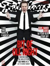 UK Olly Murs Fabulous Magazine Cover Promo X Factor Kelly Jones Stereophonics