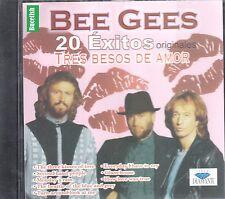 Bee Gees 20 Exitos Originales Tres Besos De Amor  CD New Nuevo sealed