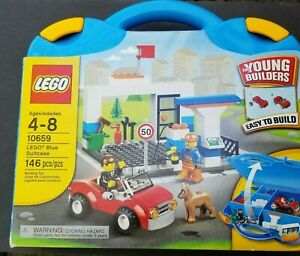 Lego Young Builders Set 10659 Gas Station Car