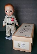 "Buddy Lee japan Doll in Old Lee 1950's Coca Cola Outfit 13"" Hard Plastic in Box"