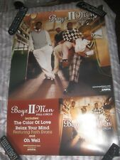 BOYZ 2 MEN-FULL CIRCLE-1 POSTER-2 SIDED-24X36 INCHES-EXCELLE NT-VERY REARE!!!!!