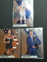 2019-20 Panini Mosaic Stephen Curry Lot Golden State Warriors