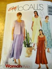McCALL'S SEWING Pattern no. 2207  Ladies dress & top size 18-20-22