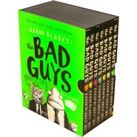NEW Bad Guys Baddest Box Episodes 1-7 7 Books Collection Aaron Blabey Kids Gift!