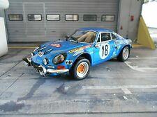 RENAULT Alpine A110 Breitbau Rallye Monte Carlo #18 Andruet 1973 Win Kyosho 1:18