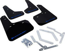 Rally Armor UR Mud Flaps Black w/ Blue 13+ Focus ST & 16 Focus RS MF27-UR-BLK/BL