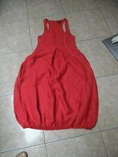SARAH PACINI jolie robe rouge ballon taille 1