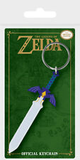 Gummi Schlüsselanhänger LEGEND OF ZELDA - Master Sword  Rubber Keyring RK38699