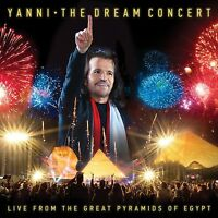 YANNI - THE DREAM CONCERT:LIVE F.T.GREAT PYRAMIDS OF EGYPT   CD+DVD NEU