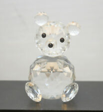Swarovski Crystal Large 2.75� Sitting Teddy Bear #7637 Nr075 Mint
