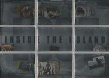 "Lost Revelations - ""Inside the Island"" 9 Card Chase Set #I-1-9"