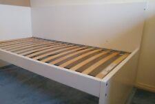 Ikea single bed with slatted base