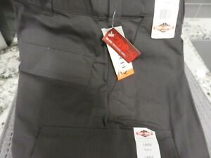 "Tru-Spec Black BDU Police Trouser w/Zip Fly Sz L Regular (35-39"") NEW w/Tags"