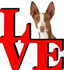 Ibizan Hound Dog Love Park Dog Fridge Refrigerator Car Magnet