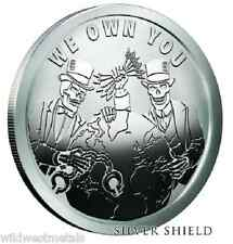 """SILVER SHIELD """"WE OWN YOU """" - PROOF PYRAMID OF POWER **LAST STOCK** SBSS ART"""