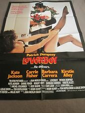 poster 1989 Patrick Dempsey B4 he was McDreamy he was Loverboy Carrie Fisher