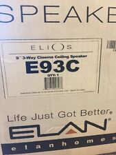 1x Elan Elios E93C 9'' 3-Way Cinema In Ceiling Speaker (White)