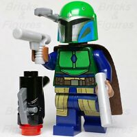 Star Wars LEGO® Mandalorian Female Tribe Warrior Green Minifigure 75267 Genuine