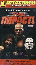 2009 Tristar TNA Impact Wrestling Blaster Box w/ 1 Auto Per