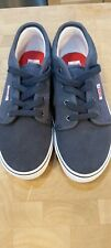 Boys Navy Vans Trainers size 1.5 BRAND NEW