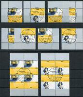Bund 2733 - 2734 Eckrand oder Viererblock gestempelt Vollstempel Berlin ESST