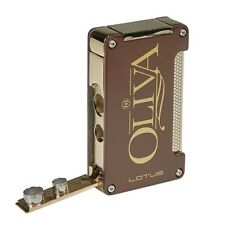 Oliva Lotus 3 Eleven Laser Torch Lighter Brown 2 Built-in Punches! SAVE 80%!